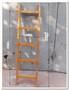 Продается небольшая деревянная лестница